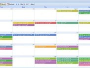 jquery event calendar monthly view