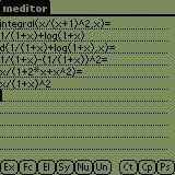 meditor running on Palm