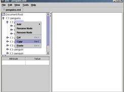 A screenshot showing the context dialog including cut/paste