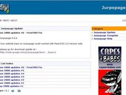 Jurpopage dynamic content with categorized in every page