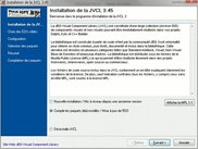 JVCL installer, localized in French