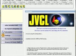 JVCL Mega Demo, demonstrating usage for most components