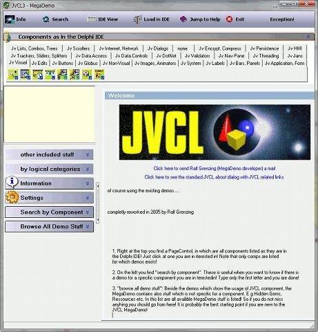 JEDI VCL for Delphi download | SourceForge net