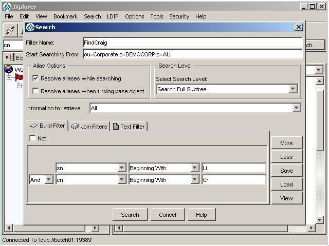 JXplorer - A Java Ldap Browser download | SourceForge net