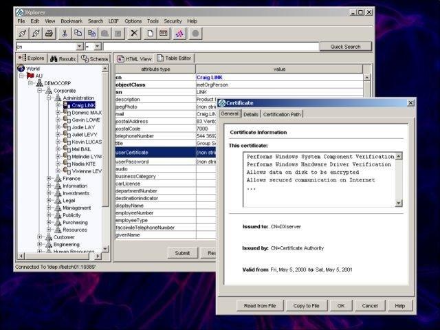 Jxplorer A Java Ldap Browser Download Sourceforge Net