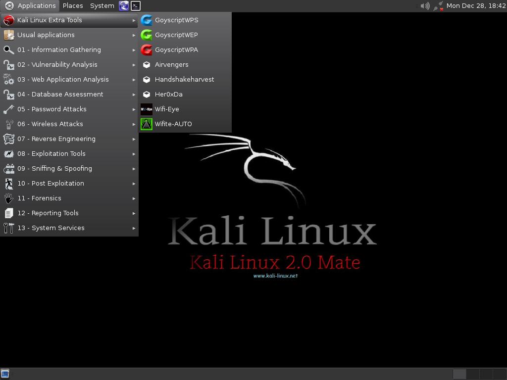 machine kali linux