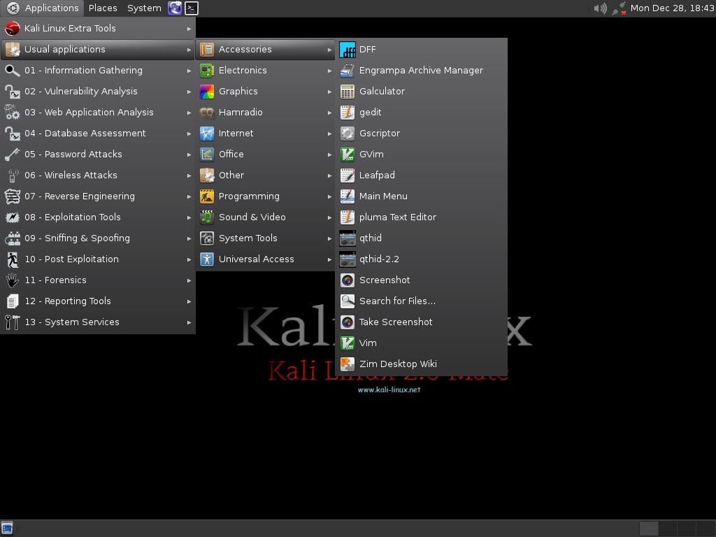 Kali Linux Mate download | SourceForge net