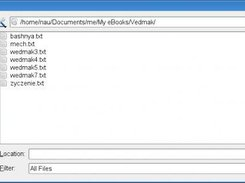 Oped dialog with encoding selection