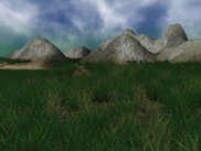 Terrain Rendering (Moving Grass, Cloud Shadows, ...)