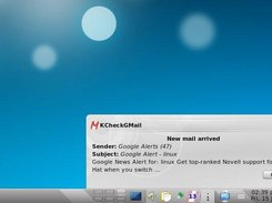 3. New Email Notification (KDE4)