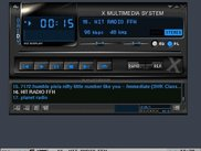 XMMS plays internet radio.