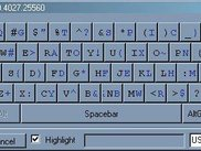 Qwerty - US, EN, XP, Windows Classic Shift Down