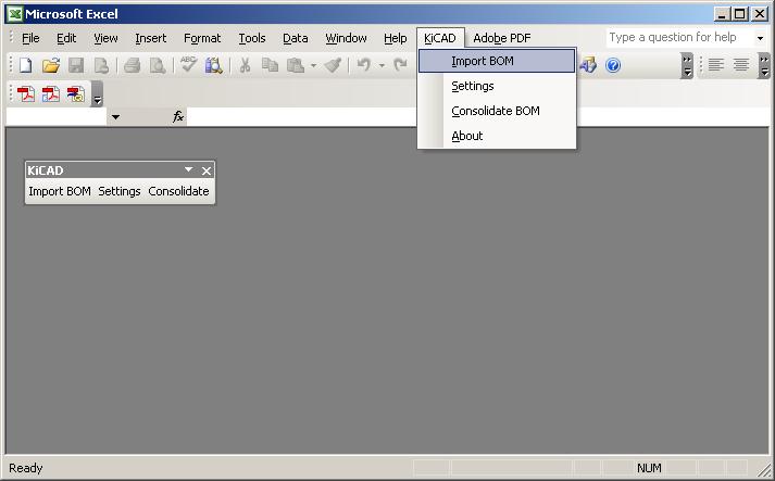 KiCAD BOM Excel Add-Ins download   SourceForge net