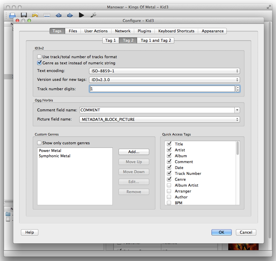 Kid3 for Mac 3.8.4 full