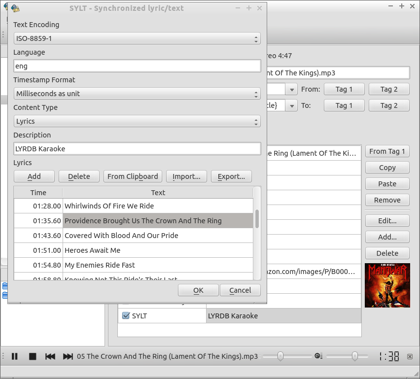 Kid3 Tag Editor download | SourceForge net