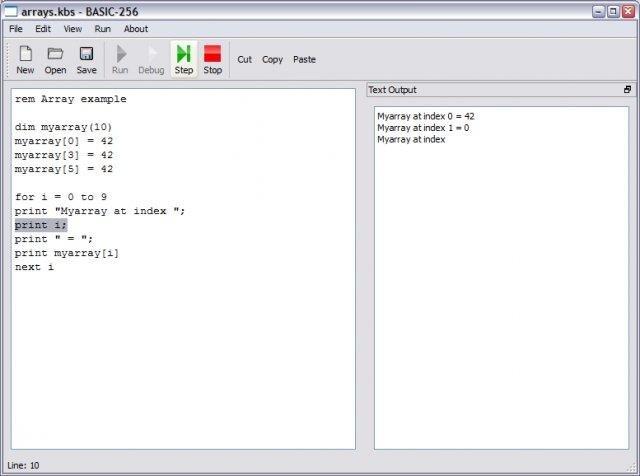 BASIC-256 download | SourceForge net