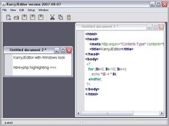 KarryJEditor with Windows look