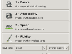 Klavaro Touch Typing Tutor download | SourceForge net