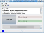 Kloben Libs: Controls (Button, Checkbox etc.) effects!!!