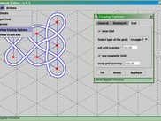 Knotwork application running with a sample graph.
