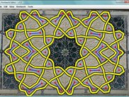 Fitting a knotwork from an islamic pattern