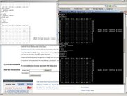 KGTP at work, showing GTP nessage window.