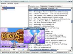 KDEVisualBoyAdvance 0.2 running a game in VisualBoyAdvance