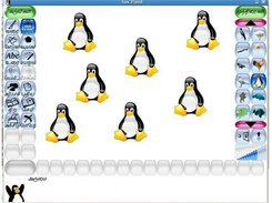 Tux Paint after processing through the Executable Localizer