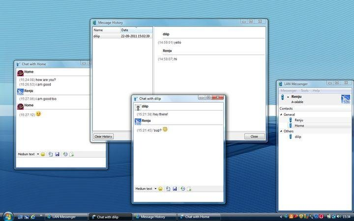 LAN Messenger download | SourceForge net