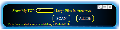 Large File Finder