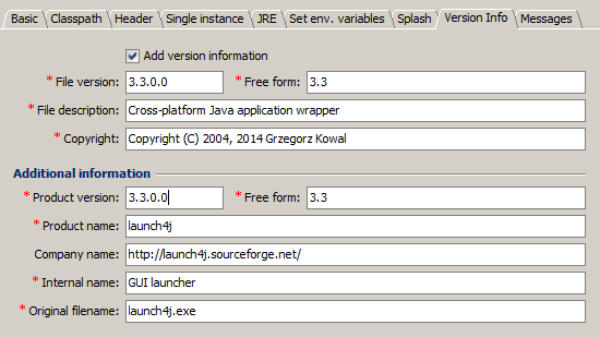 plugin launch4j pour netbeans