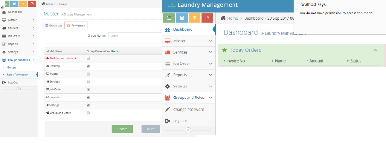 Laundry Management System download | SourceForge net