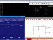Lcsim terminal, plotmtv output and schematics