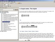 Music theory:  interactive eBooks with scores and exercises