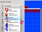Drag & drop from the Sprite Toolbox onto a level