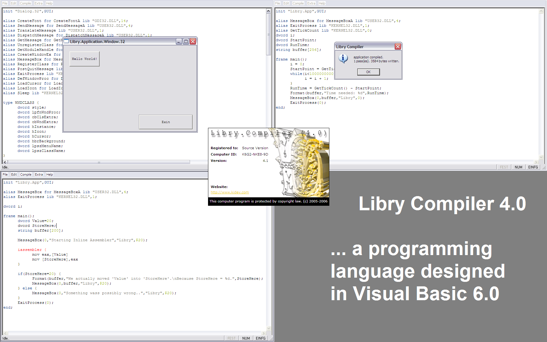Libry Compiler 4 1 download | SourceForge net