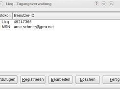 The owner manager dialog in Qt4 UI.