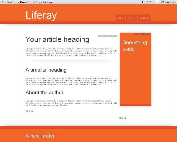 Liferay themes for Liferay templates free