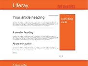 html5 theme for liferay 6