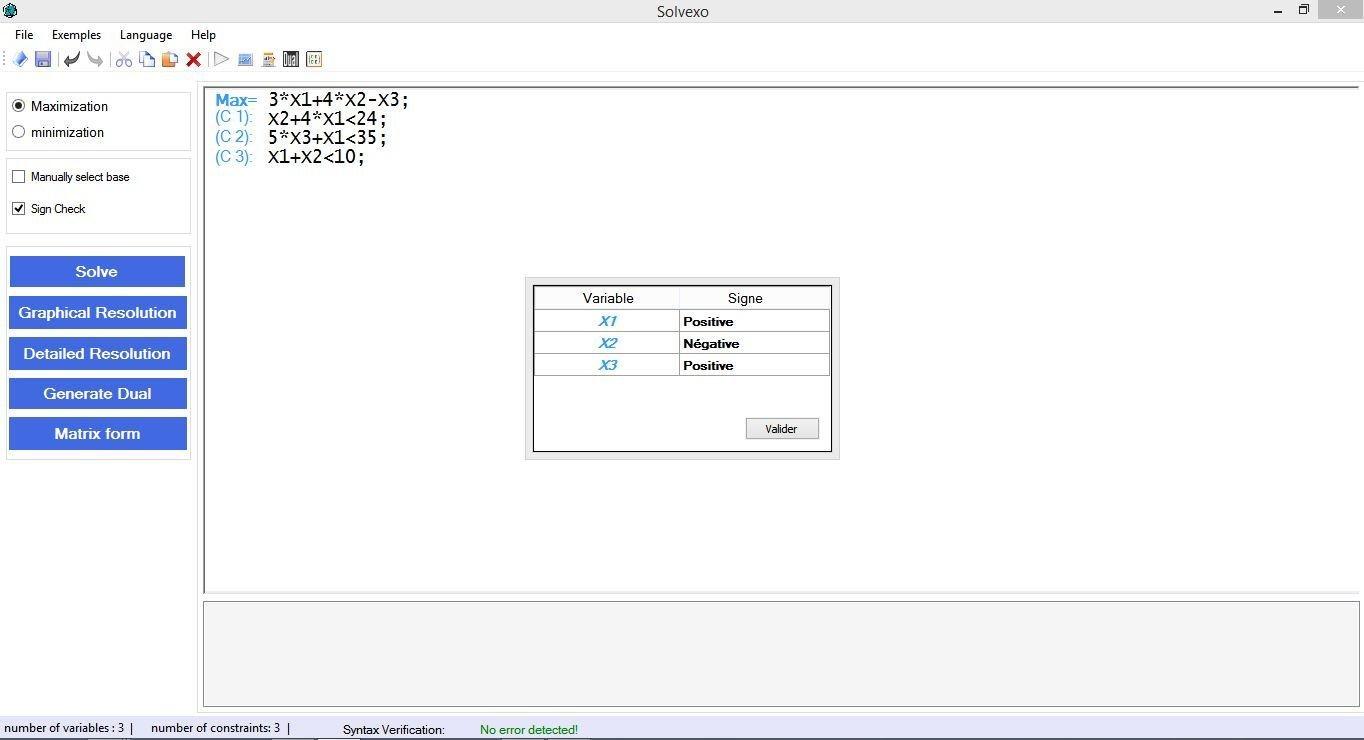 Linear Program Solver (Simplex) download   SourceForge net