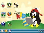 LinuxKidx - Kde Interface