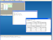 Linear Program Solver Main Window
