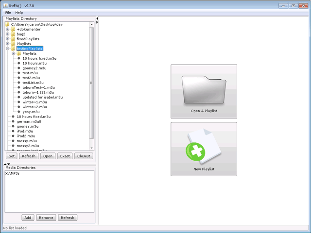 listFix() download | SourceForge net