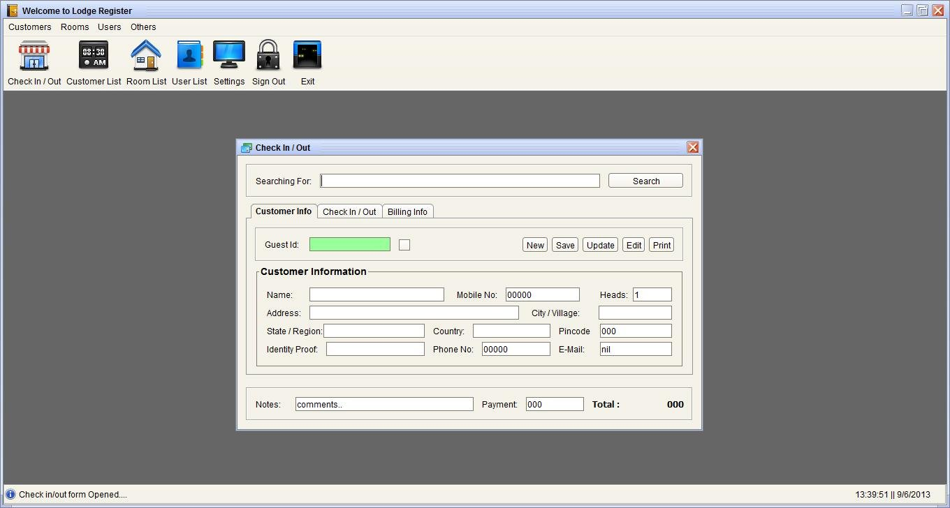 lodge software free download