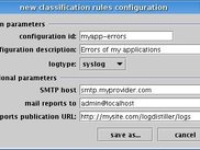 Rules configuration creation wizard