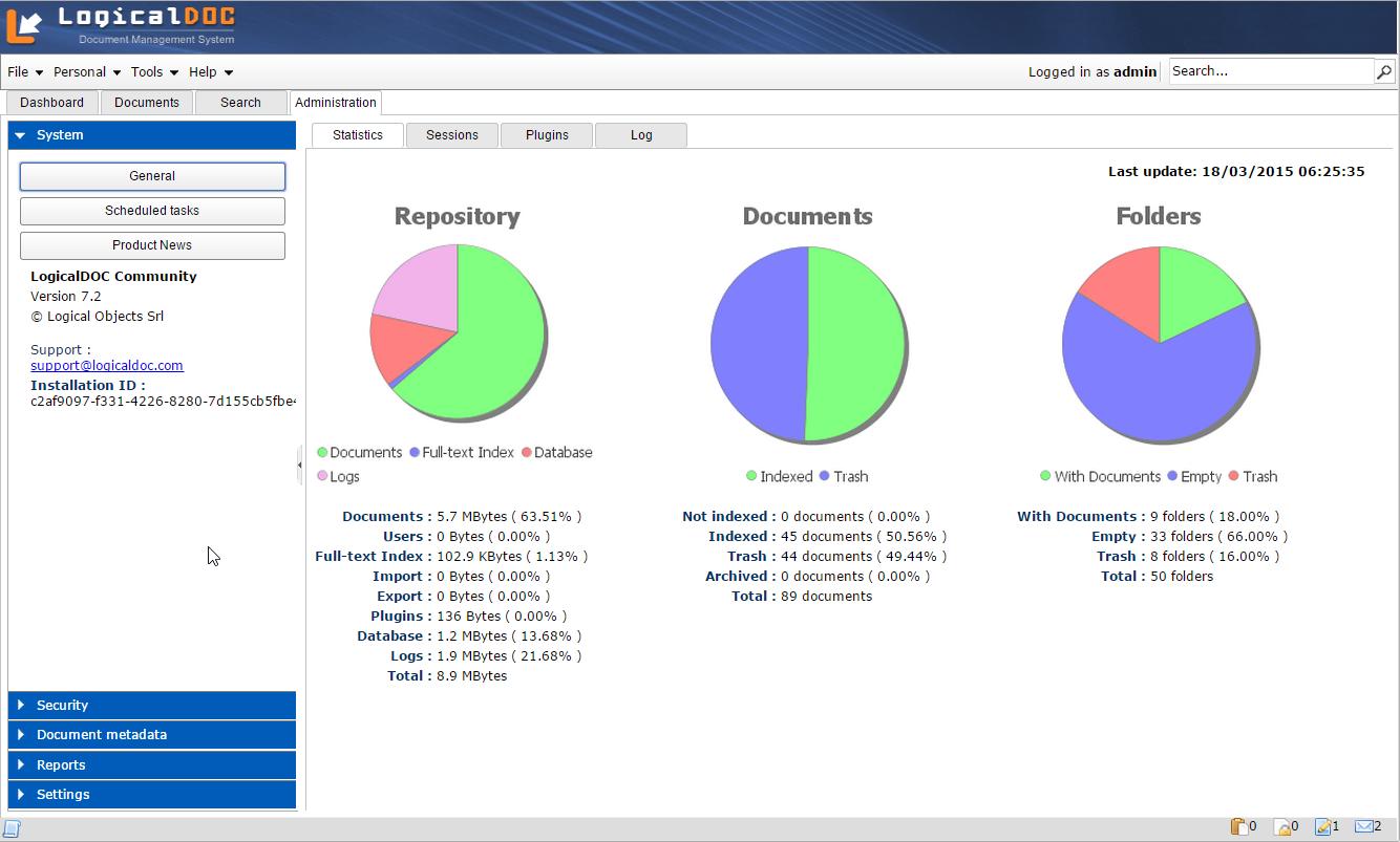 LogicalDOC Document Management - DMS download | SourceForge net