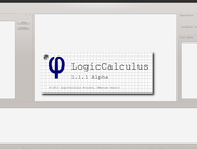 SplashScreen at the start of LogicCalculus in Linux [1.1.1]