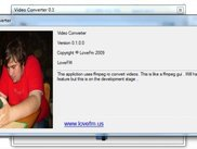 LoveFm Video Converter About Window