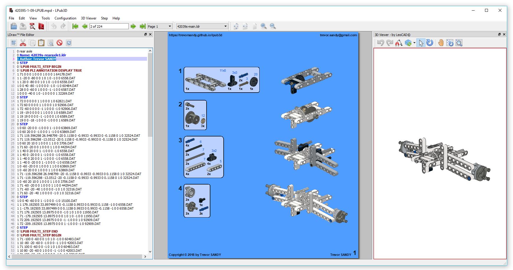 LPub3D download | SourceForge net