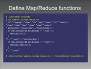 3. csv2json and putdesign - Map/Reduce Funcs